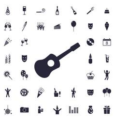 Guitar icon vector