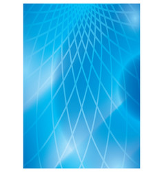 Light blue abstract background with grid vector