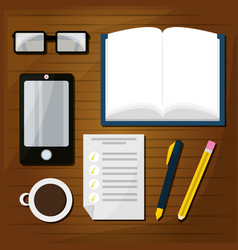 nice elements to study and learn vector image