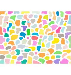 terrazzo geometric textures and bundle of vector image
