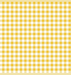Yellow seamless table cloth texture vector