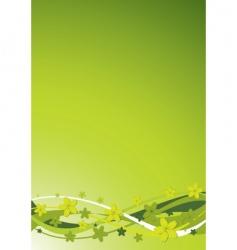 floral background illustration vector image