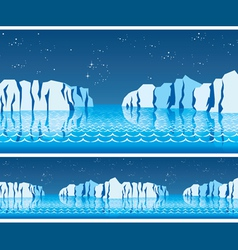 polar ice vector image vector image