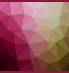 abstract polygonal mosaic background multi-color vector image