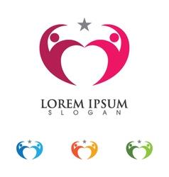 Community Care Logo vector image