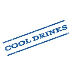 Cool Drinks Watermark Stamp vector