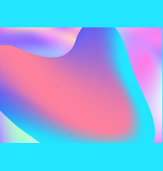 fluid background with liquid dynamic elements and vector image