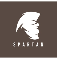 Old Vintage Antiques Spartan warrior design vector image