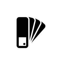 Pantone Icon Flat vector image