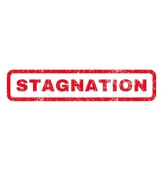 Stagnation Rubber Stamp vector