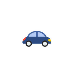 toy car icon flat element of vector image