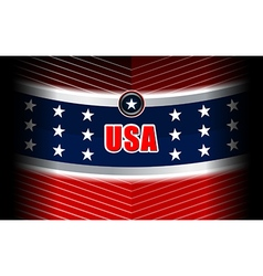 Usa modern backgrounds style vector