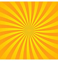 Yellow orange rays poster vector