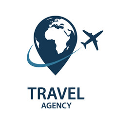 travel logo image vector image vector image