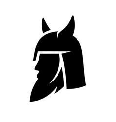 Viking abstract sign vector