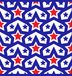 american usa flag seamless patterns independence vector image