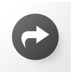Ahead icon symbol premium quality isolated vector