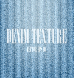 Blue denim texture background vector