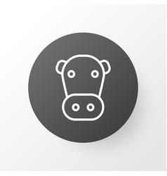 Cow icon symbol premium quality isolated kine vector