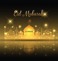 Eid mubarak background 2 0606 vector