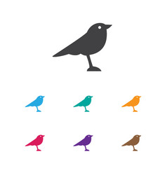 of animal symbol on thrush vector image