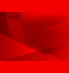 red color geometric abstract background modern vector image