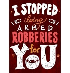 Saint Valentines typography vector image
