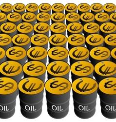 sale petroleum products vector image