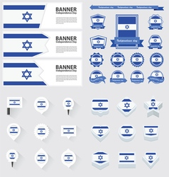 Set israel vector