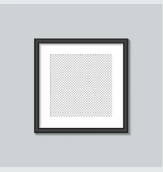 square black frame template vector image