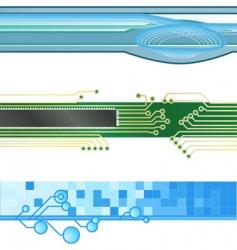 Website banner vector