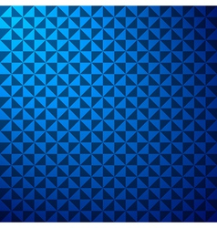 creative triangle pattern in blue background stock vector image vector image