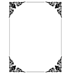 Frame Thailand vector image vector image