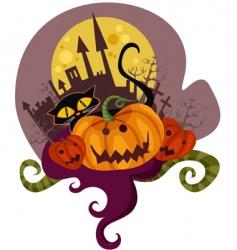 pumpkin vector image vector image