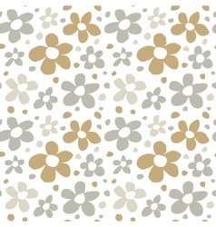 Abstract Flowers Seamless Pattern Texture vector