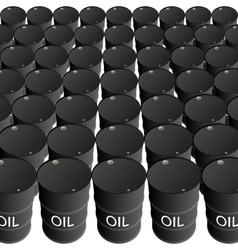 barrels oil products vector image