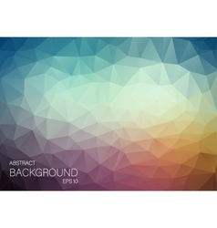 Abstract triangle backgound for web Blue and vector image