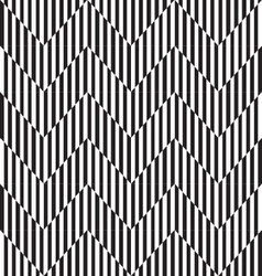 Seamless pattern Abstract striped texture of black vector image vector image