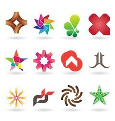 Contemporary Logo Collection vector image vector image