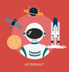 Astronout conceptual design vector