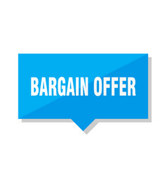 Bargain offer price tag vector