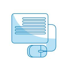 Blog online website vector