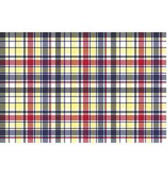 Check plaid tartan fabric texture seamless pattern vector