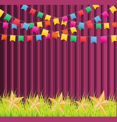 Festival background vector