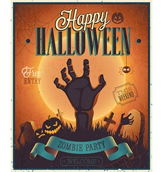 Halloween flyer2 vector