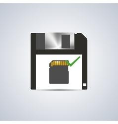 Icon successful write vector