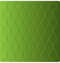Stylish grass green background in diamond-shaped vector