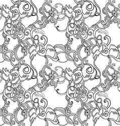 floristicpattern vector image vector image