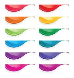 Wave design vector image
