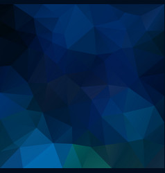 abstract irregular polygonal background blue vector image